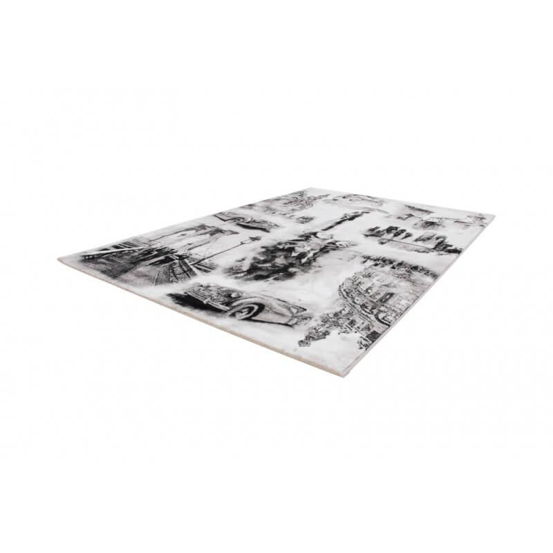 tapis courtes m ches argent pour entr e classic. Black Bedroom Furniture Sets. Home Design Ideas