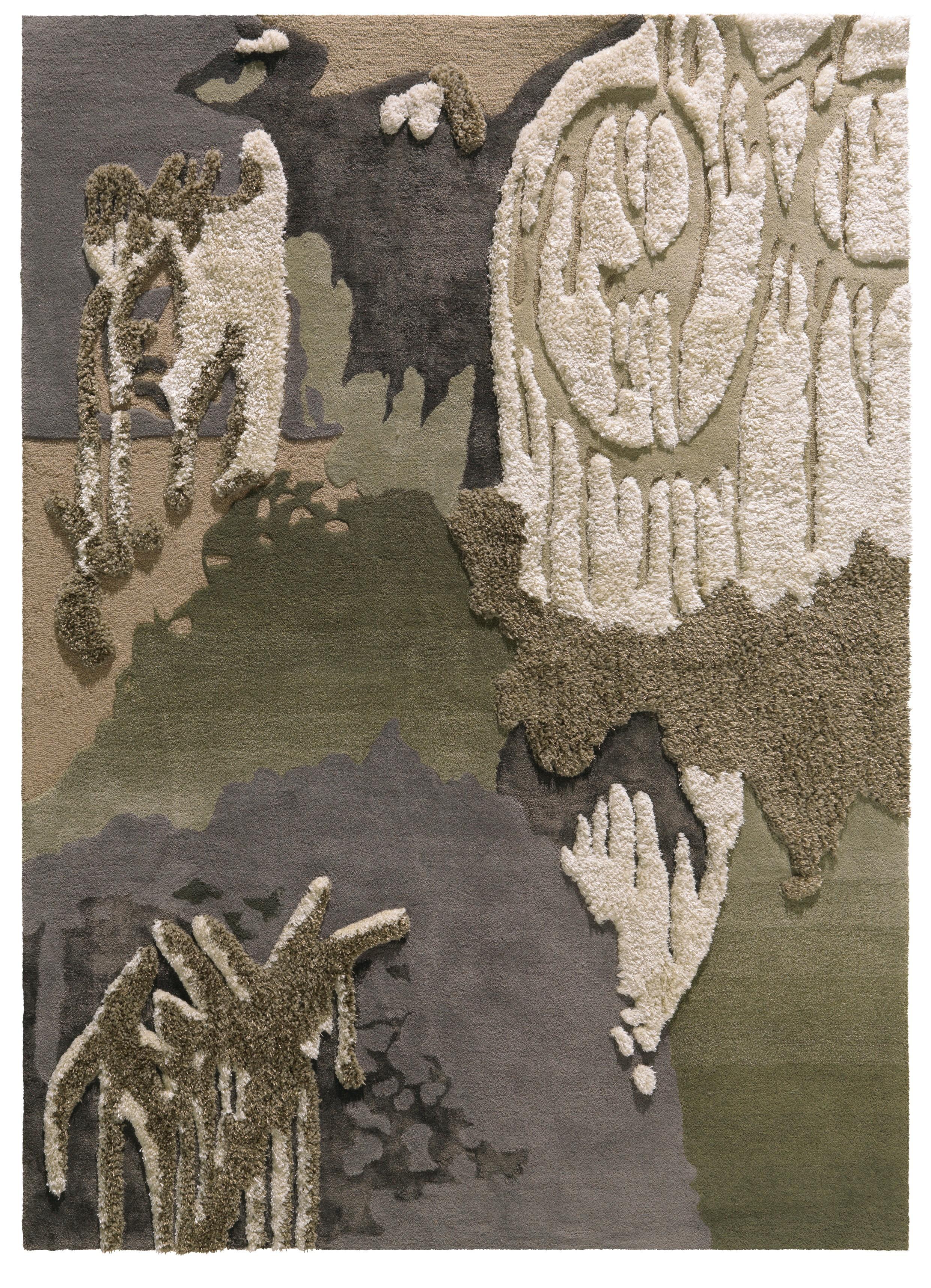 Tapis bambou Trash II par Arte Espina