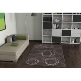 Tapis gris pour salon moderne Nadi