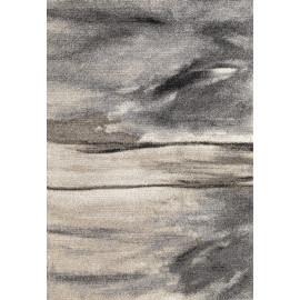 Tapis contemporain d'intérieur gris Edmond