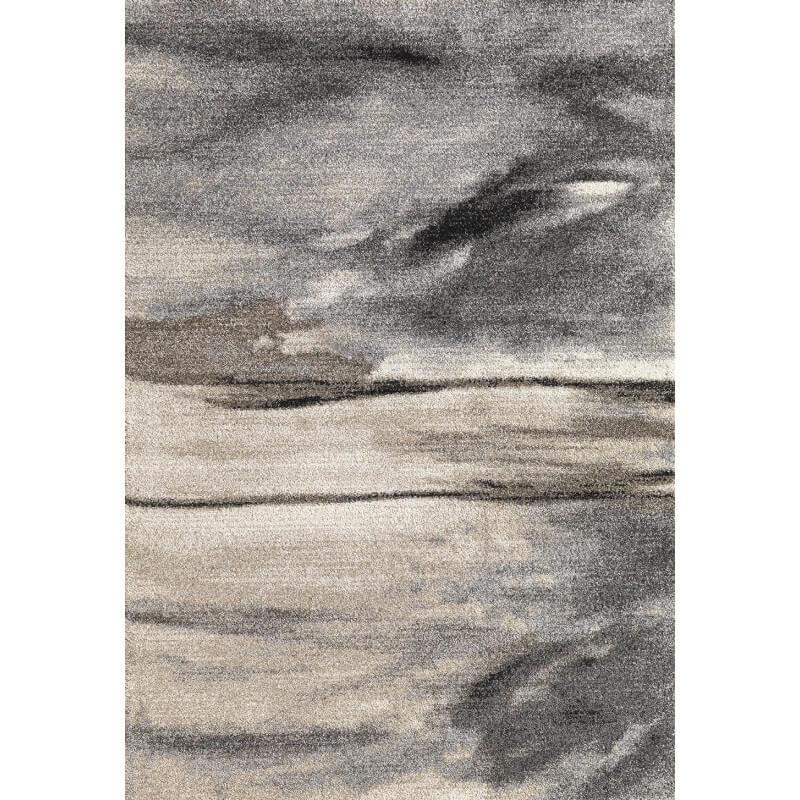 tapis contemporain d 39 int rieur gris edmond. Black Bedroom Furniture Sets. Home Design Ideas