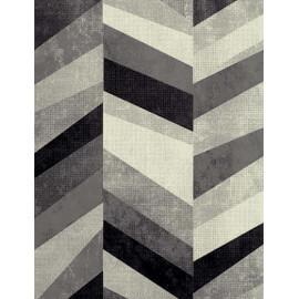 Tapis gris moderne Felicia