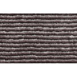 Tapis en polyester avec effet 3D uni gris Diamond