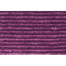 Tapis en polyester avec effet 3D uni violet Diamond