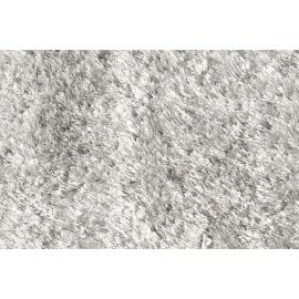 Tapis tufté mécanique shaggy gris Andrew