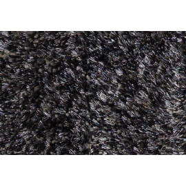 Tapis tufté mécanique shaggy anthracite Andrew