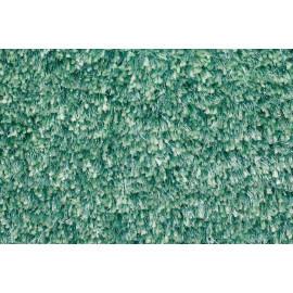 Tapis tufté mécanique shaggy turquoise Andrew