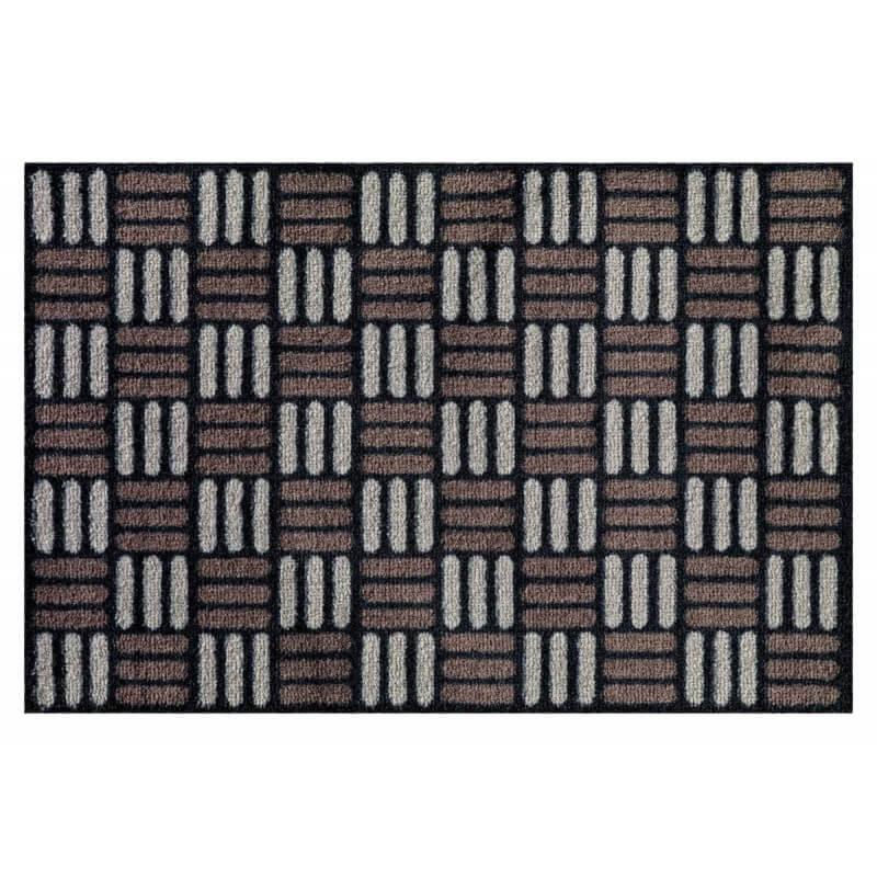 Paillasson en nylon pour ext rieur noir clarence for Coussin exterieur 80x120