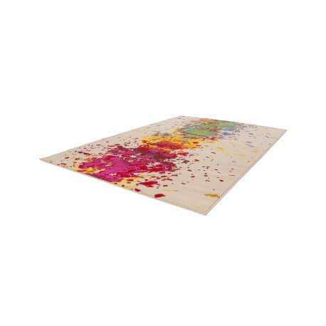 Tapis multicolore pour salon en polypropylène Basic
