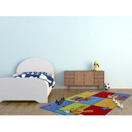 Tapis pour chambre de bébé multicolore en acrylique Sweeny