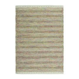 Tapis multicolore en laine de salon noué main Jakarta