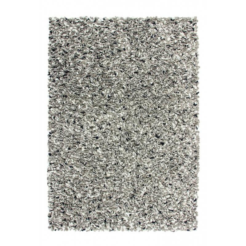 tapis design en laine feutr e taupe pour chambre taco. Black Bedroom Furniture Sets. Home Design Ideas