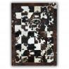 Tapis en peau de vache Normande patchwork Badalona
