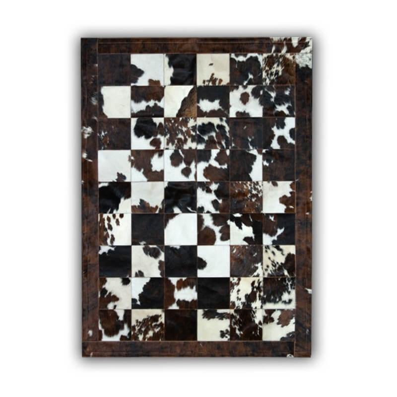 tapis en peau de vache normande patchwork badalona. Black Bedroom Furniture Sets. Home Design Ideas