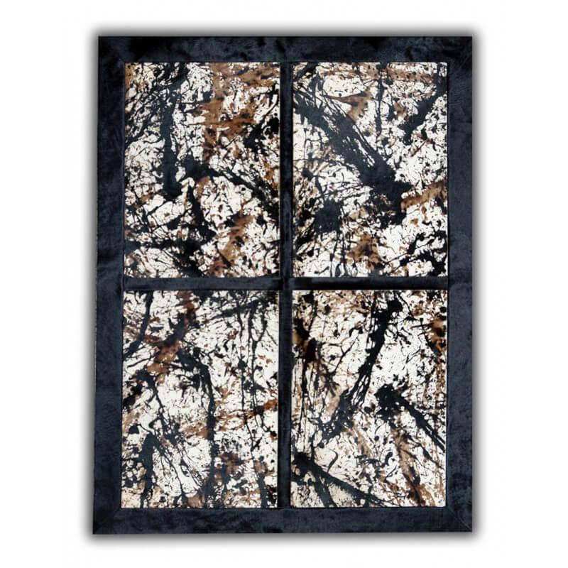 tapis en peau de vache naturelle design barakaldo. Black Bedroom Furniture Sets. Home Design Ideas