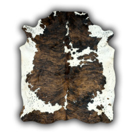 Peau de vache Normande naturelle brun claire Valdemoro