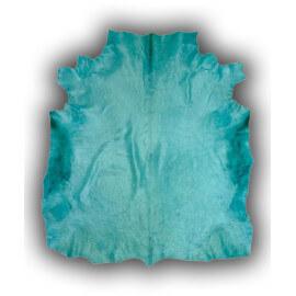 Peau de vache avec imprimé taureau bleu Cuenca