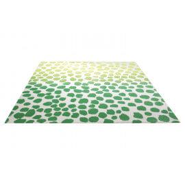 Tapis design en polypropylène vert Snugs Esprit Home