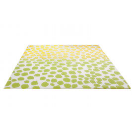 Tapis design en polypropylène jaune Snugs Esprit Home