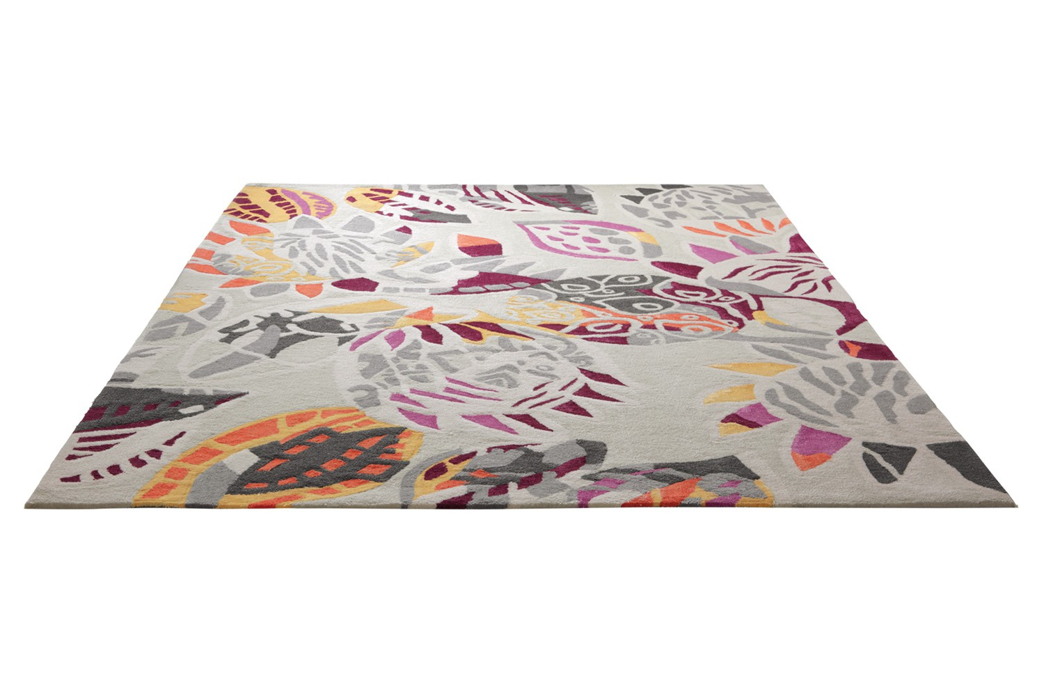 tapis ethnique multicolore en laine desert flower esprit home. Black Bedroom Furniture Sets. Home Design Ideas