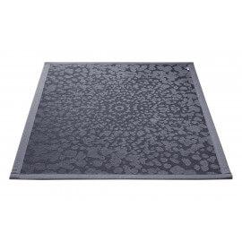 Tapis de bain en coton et polyester gris Caldera Esprit Home