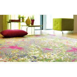 Tapis tufté main avec impression florale multicolore Paint Box Arte Espina