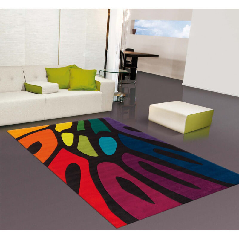 Tapis Multicolore Pour Int Rieur Colour Festival Arte Espina