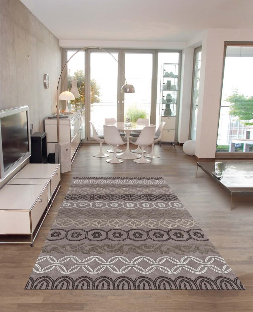 Wc Sous Escalier Feng Shui tapis de salon contemporain gris feng shui arte espina