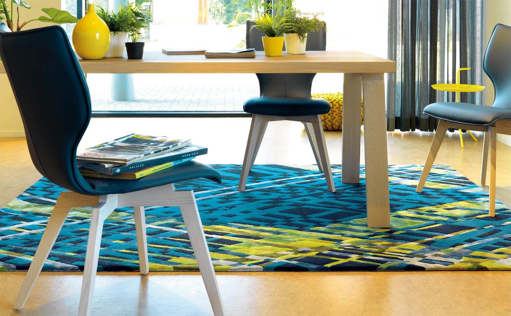 tapis design en laine de nouvelle z lande criss cross arte espina. Black Bedroom Furniture Sets. Home Design Ideas