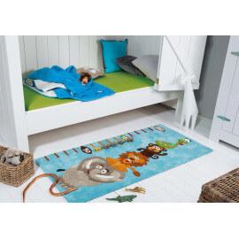 Tapis bleu pour chambre de garçon Kids Koc Arte Espina