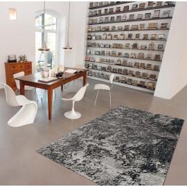 Tapis contemporain gris pour salle à manger Moon Arte Espina