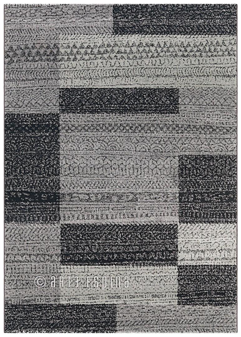 tapis gris contemporain courtes m ches alpaca arte espina. Black Bedroom Furniture Sets. Home Design Ideas