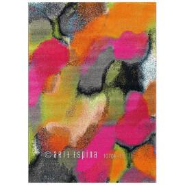 Tapis moderne multicolore rectangle Clash Arte Espina