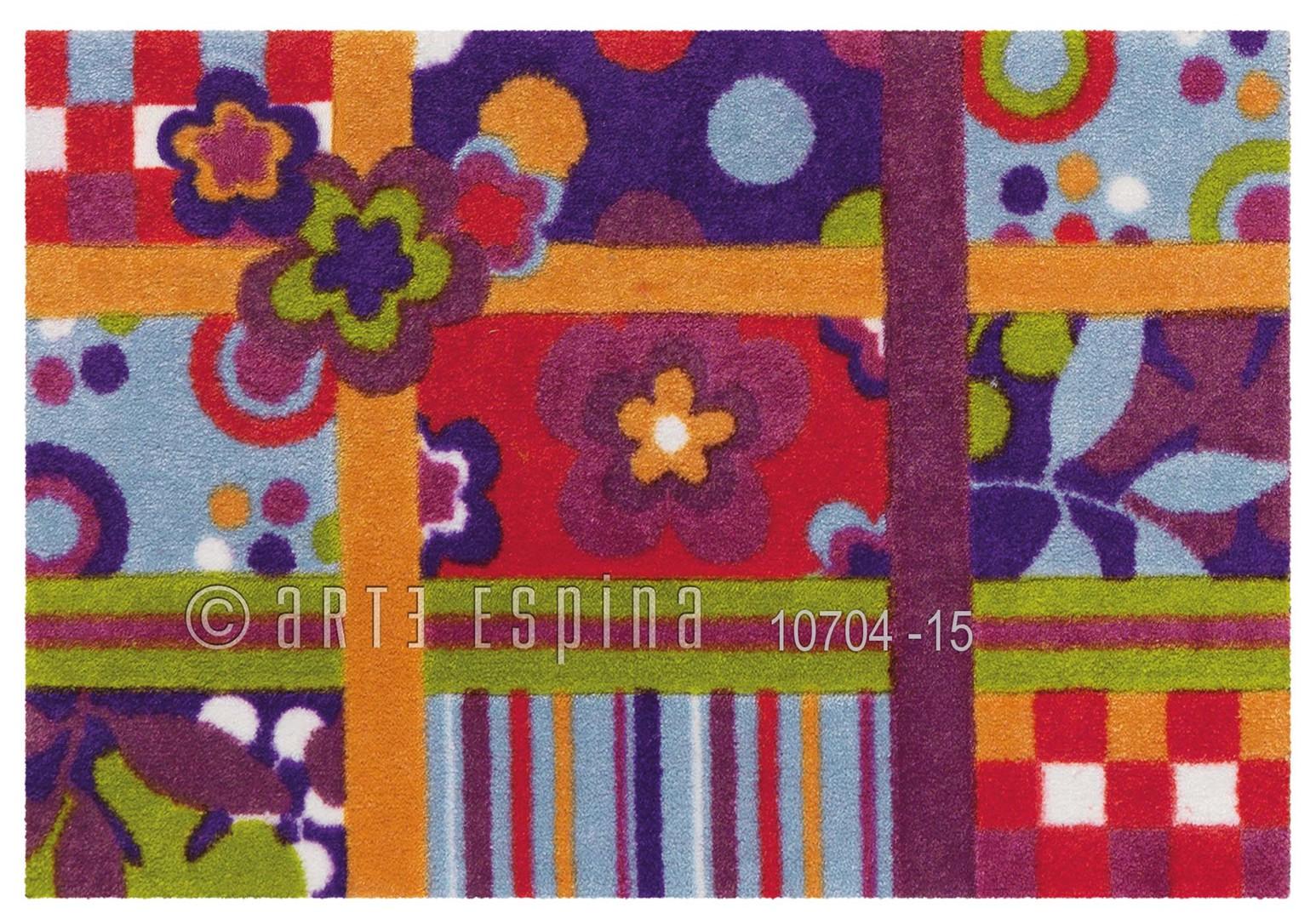 tapis multicolore quilt arte espina. Black Bedroom Furniture Sets. Home Design Ideas