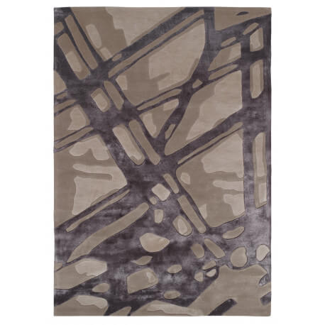 Tapis gris loft par Arte Espina