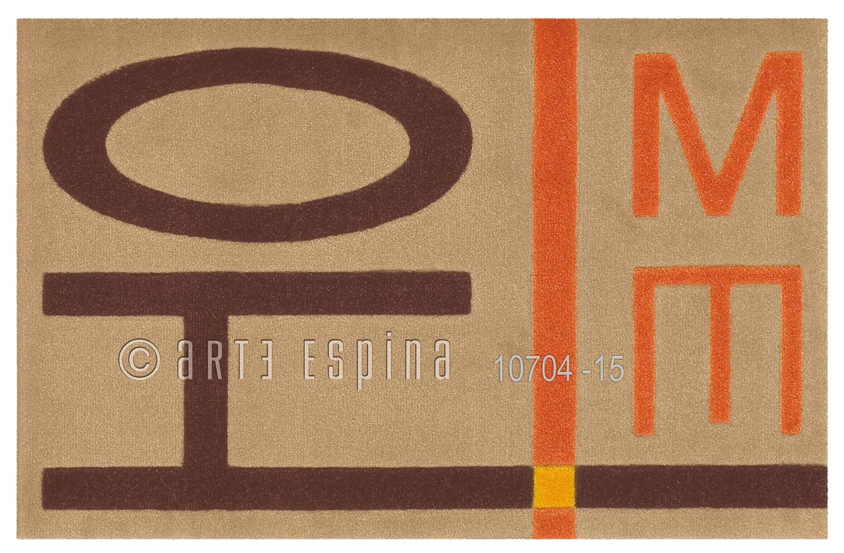 Tapis Letters de propreté Arte Espina