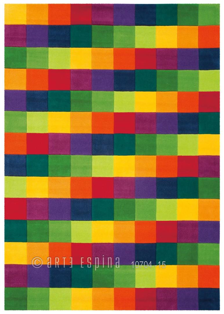Tapis Colour Festival arc-en-ciel II par Arte Espina