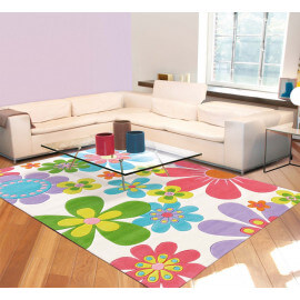 Tapis design Splash Flowers par Arte Espina