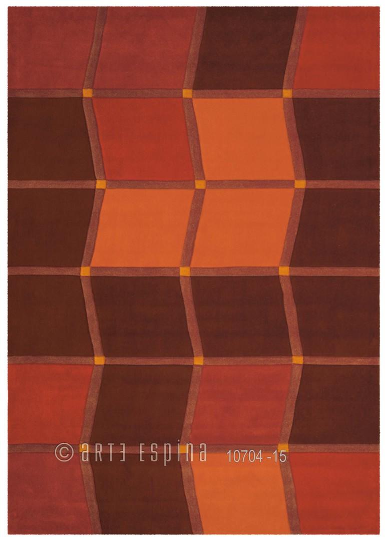 Tapis moderne Brownies II par Arte Espina