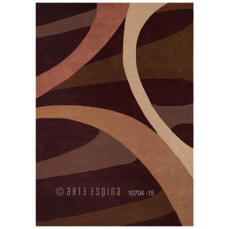Tapis moderne Brownies III par Arte Espina