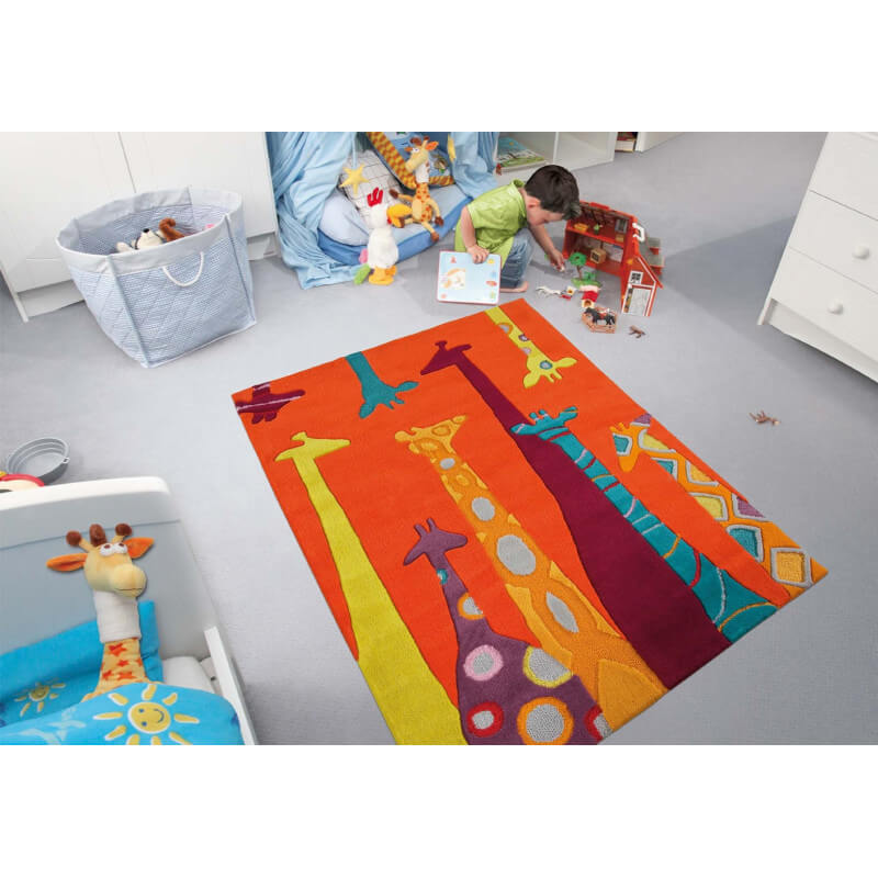 tapis enfant giraffe par arte espina. Black Bedroom Furniture Sets. Home Design Ideas