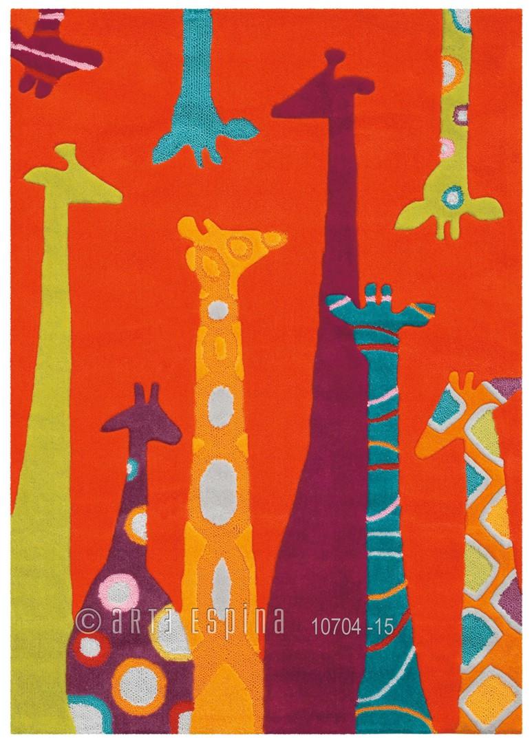 Tapis enfant Girafe par Arte Espina
