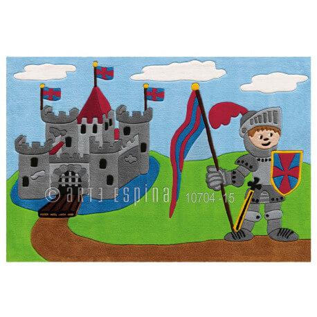 Tapis enfant Castle par Arte Espina