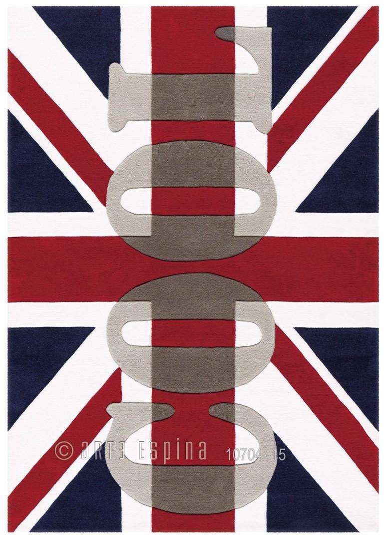 Tapis Anglais Moderne Word Up Arte Espina