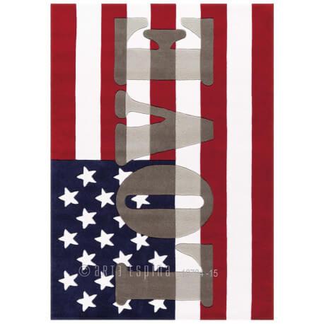 Tapis américain design Word Up Arte Espina
