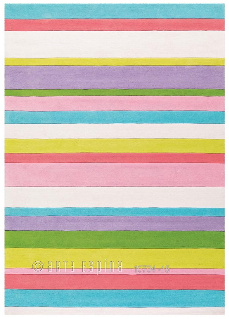 Tapis de chambre multicolore Splash Arte Espina