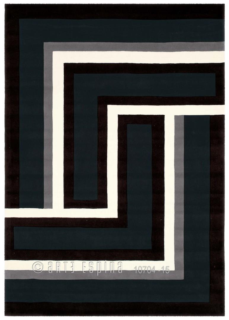 Tapis design Tweed I Noir par Arte Espina