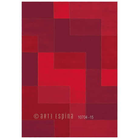 Tapis contemporain Logarithm II par Arte Espina