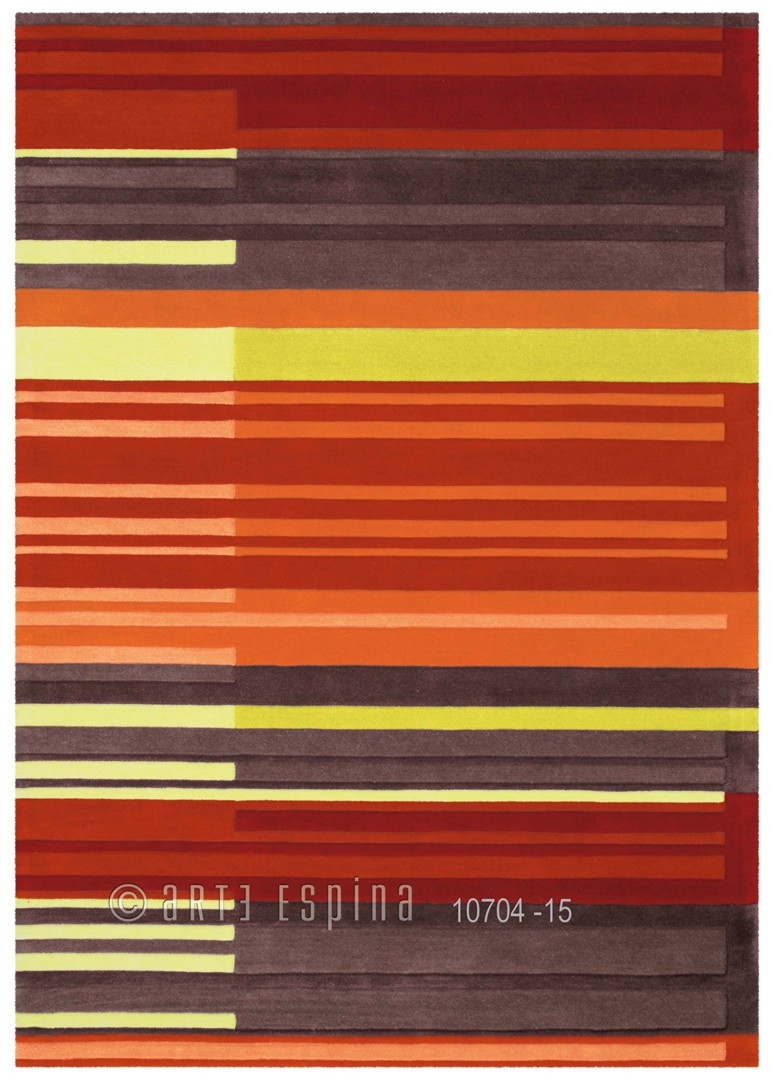 Tapis design Colour Codes II par Arte Espina