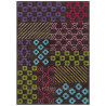 Tapis bambou Arte Espina pour salon marron Pattern Book